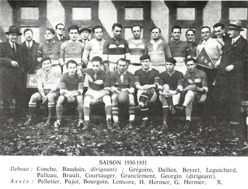 Le Rugby à Montargis 1900 - 1970 PHOTO  p11