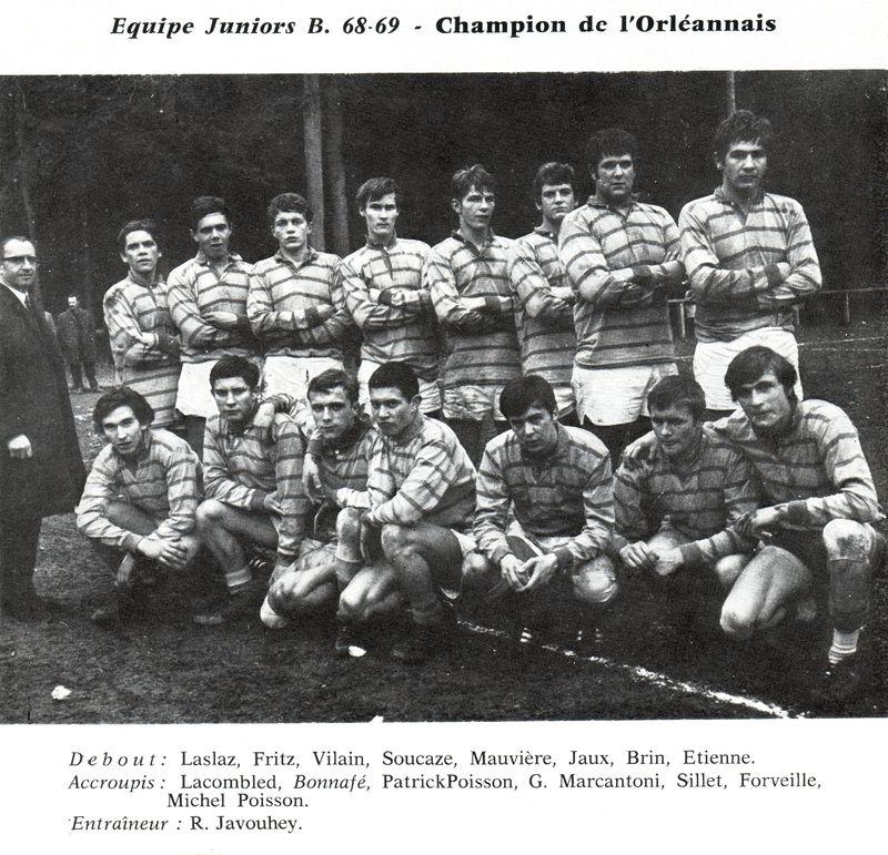 Le Rugby à Montargis 1900 - 1970 PHOTO p22