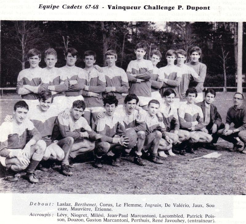 Le Rugby à Montargis 1900 - 1970 PHOTO p21