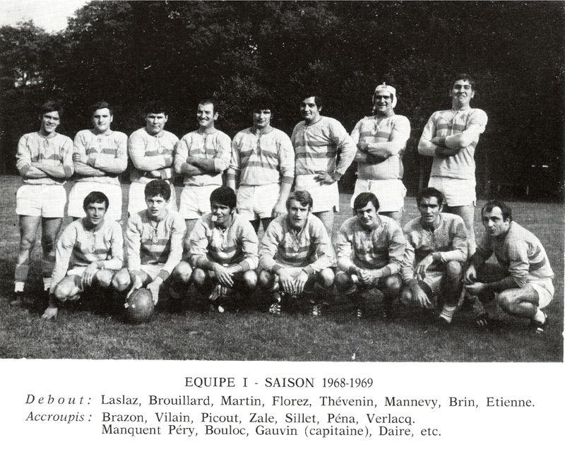 Le Rugby à Montargis 1900 - 1970 PHOTO p19