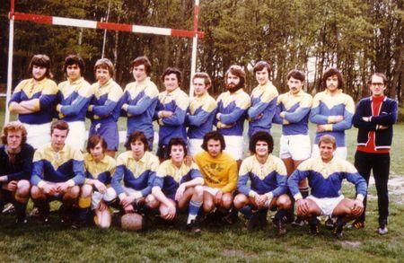 USMMontargis rugby juniors 1973-1974