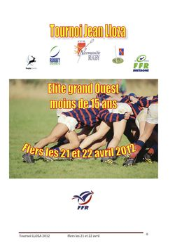 Tournoi Lloza Elite grand-ouest U15