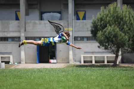 Rugby, jeu d'ange heureuxb2