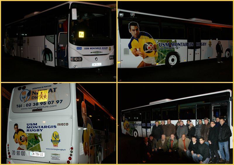 USMM Rugby Nouveau bus
