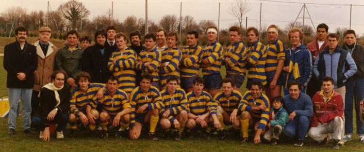 Séniors 1 - 1986