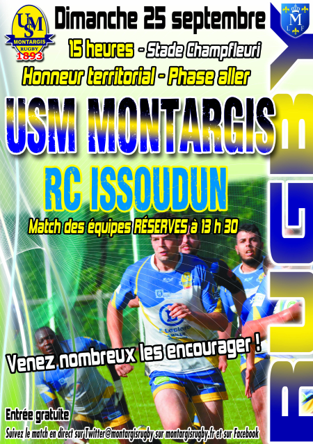 AFFICHE RUGBY SENIORS