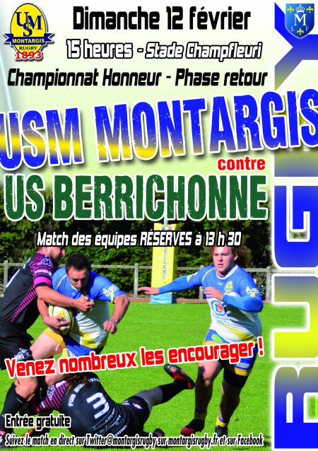 AFFICHE RUGBY 1