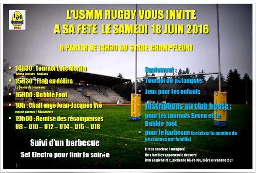 2016 invitation fete du club