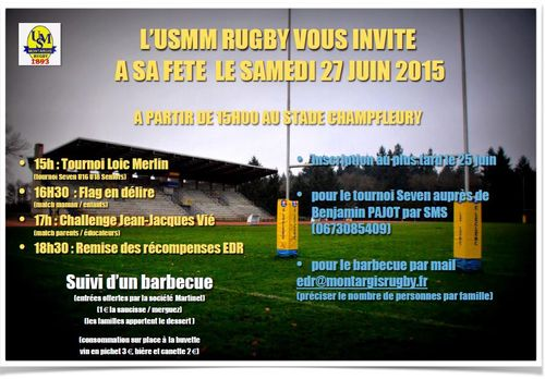 Invitation fete du rugby 2 word