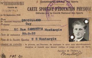 MR BROUILLARD LICENCE 1942 2