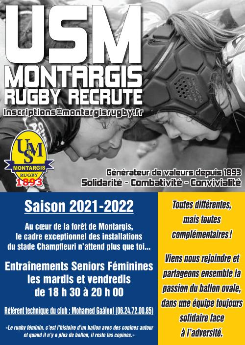Flyer rugby filles 2021-2022